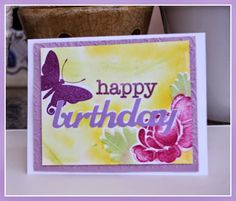Handmade Cards By Helen: HB Darnell, MIM #170, Virginia's View