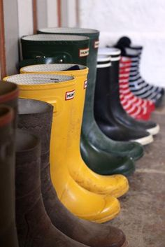 Galoshes, wellies, boots...