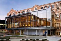University of Kansas architecture school extension features double-layered glass skin