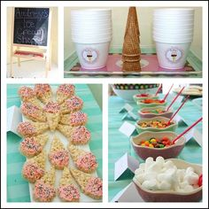 toddler ice cream party
