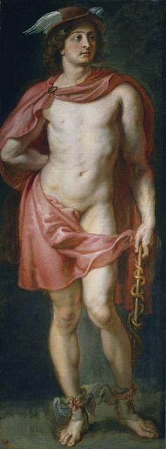 """""""Mercurio"""", Pedro Pablo Rubens. Óleo sobre lienzo, 1636 – 1637"""