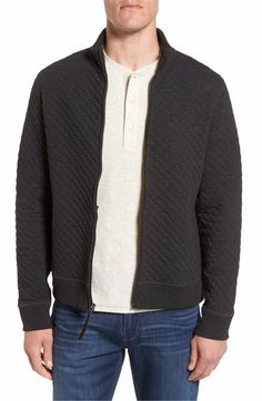 Main Image - Billy Reid Diamond Quilted Jacket