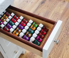 Store, Organize, and Display your essential oils around the house, on the go, or at your next event.