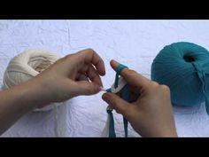 ▶ Tejer un cordon con los dedos - YouTube