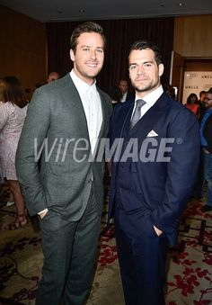Armie Hammer and Henry Cavill...