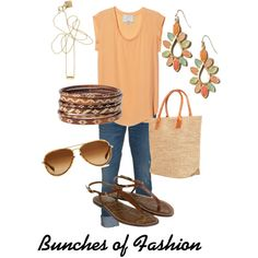 Lazy days of summer, created by cford32 on Polyvore