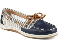 Sperry - Firefish Stripe Mesh - Marine - LE CAPITAINE D'A BORD