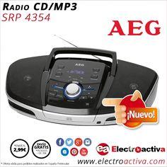 ¡Reproduce las melodías que más te gustan! Radio CD/MP3/USB/BT AEG SRP 4354 http://www.electroactiva.com/aeg-radio-cd-mp3-usb-bt-srp-4354.html #Elmejorprecio #RadioCD #Electronica #PymesUnidas