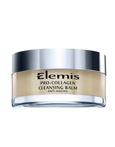 Elemis Pro-Collagen Cleansing Balm - cleaning your face isn't a chore with this blissful balm. Created first for professional treatments, this anti-ageing cleanser breaks down makeup and grime, and leaves your skin feeling AMAZING. Pore Cleansing, Super Cleanse, Vitis Vinifera, Face Wash, Natural Oils, Natural Skin, Massage, The Cult