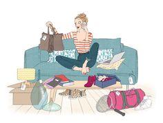 illustration delphine soucail shopping.jpg - Delphine SOUCAIL | Virginie
