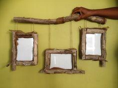 Search result of - Wood Decora la Maison Driftwood Frame, Driftwood Wreath, Driftwood Projects, Cadre Photo Mural, Articles En Bois, Organic Art, Wall Lights, Ceiling Lights, Wooden Decor