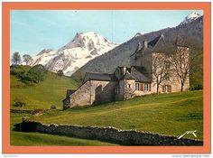 64 - Env. d' EAUX BONNES - LARUNS - Chateau d' Espalungue et Pic du Ger ... // CPM - Delcampe.net