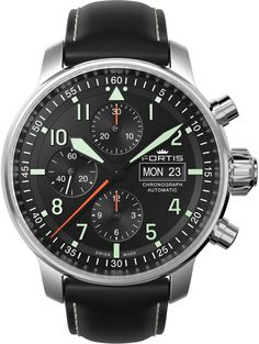 Fortis Watch Aviatis Flieger Professional Chronograph #add-content #bezel-fixed…
