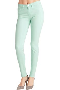 J Brand Mid Rise Skinny in Julep at Thera M.