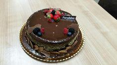 Sims Cake Shop: Chiffon de chocolate para aniversário