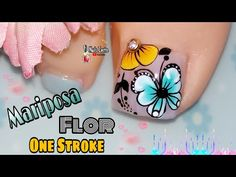 Merry Christmas Gif, Manicure, Nails, Make It Yourself, Flower Nails, Pretty Pedicures, Flower Nails, Nail Designs, Mariana