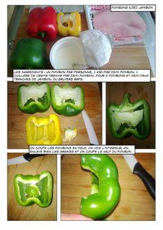 Cooking Strip: Poivrons Kiri Jambon