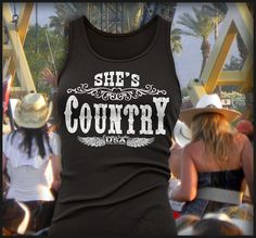 Ain't Just Porches and Plows Tank Black AT COWGIRL BLONDIE'S www.dumbblondeboutique.com