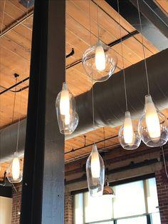 BeSoStyle: Yoga, Matcha + Interior Style. Interior Inspiration at Luna's Living Kitchen, Charlotte, NC. #moderndesign #pendantlights #interiorinspiration #livingkitchen #industrialinterior