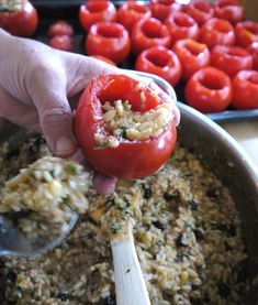Gluten Free Recipes For Lunch, Lunch Recipes, Vegetarian Recipes, Healthy Recipes, Greek Dishes, Main Dishes, Fun Cooking, Cooking Recipes, Food Decoration