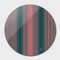 Discover «patterned stripes», Limited Edition Disk Print by Magdolna Novak - From $65 - Curioos