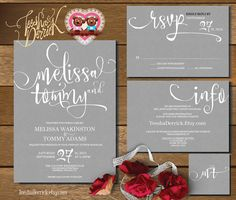 18 Simple Inexpensive Wedding Invitations Modern Galleries and
