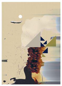 """Landscape with Woman"" by Jesús Perea"