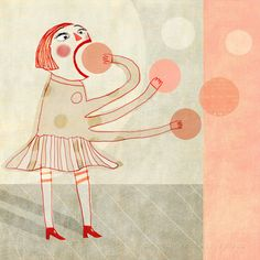 Puzzled illustration by Nelleke Verhoeff Red Cheeks Factory