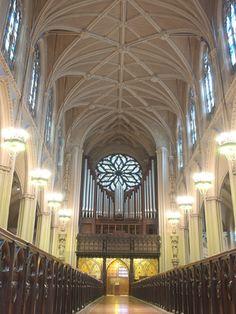 Grace Church, NYC (back of church)