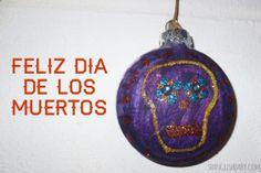 Dia de los Muertos Ornaments DIY