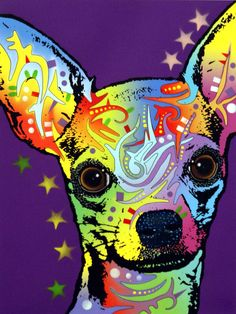 Chihuahua Painting  - Dean Russo