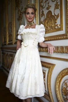 [This is a dirndl. You won't be needing all that fluffy stuff. Wedding Dress Black, Drindl Dress, Dress Outfits, German Wedding, Oktoberfest Outfit, Fairytale Fashion, Beautiful Costumes, Tea Length Dresses, Traditional Dresses