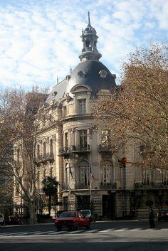 Buenos Aires - Retiro: Embajada de Francia en Buenos Aires