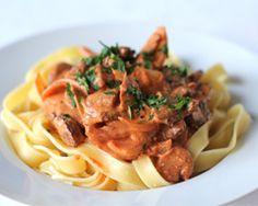 Simple beef stroganoff - Easy food recipes - Easy recipes