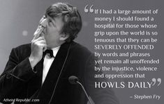 Love Stephen Fry