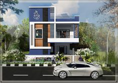 House Front Wall Design, Single Floor House Design, Modern Small House Design, Bungalow House Design, Minimalist House Design, Temple Design For Home, Home Stairs Design, Latest House Designs, Cool House Designs