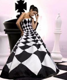 the chess dress