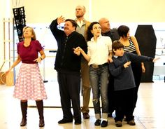 Addams Family the Musical rehearsal