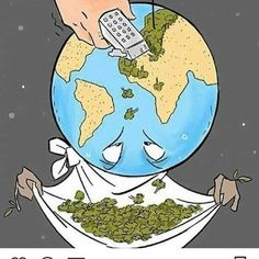 Deforestation (majority due to animal agriculture) is one of the leading contributors to climate change. We need trees to recycle the carbon dioxide we exhale back into life-giving oxygen! The rainforests are our planets lungs! Save Planet Earth, Save Our Earth, Love The Earth, Save The Planet, Our Planet, Satire, Earth Drawings, Save Environment, Satirical Illustrations