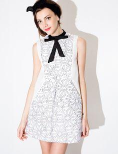 Amelia Bow Tie Dress $74.00