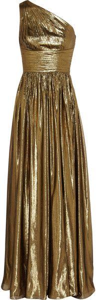 Michael Kors ~ Metallic Silkblend Gown