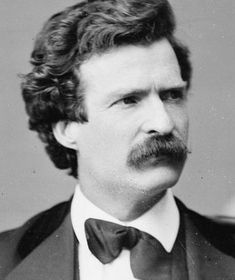 MARK TWAIN (Samuel Langhorne Clemens, 1835-1910) American author and humorist.