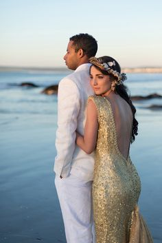 West Coast Glamour by Memory Box Photography & Blank Canvas   SouthBound Bride