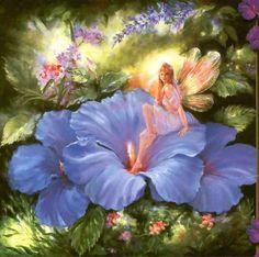 Fantasy! #flower #fairy