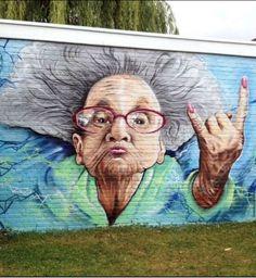 """Рубрика: """" Уличное искусство""""   Прекрасная работа"""