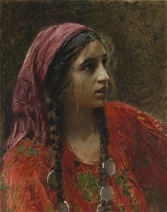 beautiful gypsy portrait paintings | rceliamendonca.files.wordpress.com