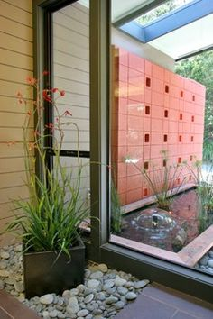 Mid Century Modern Eichler-esque Remodel Entry - contemporary - entry - san francisco - Hart Wright Architects, AIA
