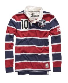 Superdry Training Ground Shirt - Mens Superdry - Rugby