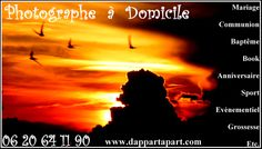 #mariage #bapteme #anniversaire #grossesse #entreprise #book #photographe #dappartapart.fr