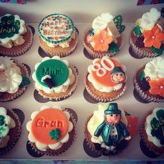 Irish theme cupcakes